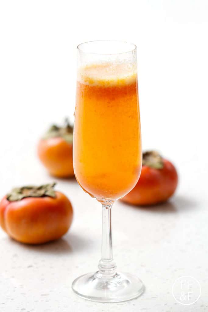 Spicy Persimmon Sparkler Food Fashion And Fun