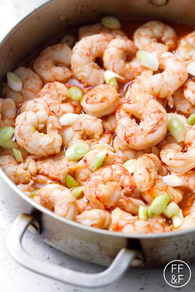 This Whiskey Shrimp recipe is true to its name. It's shrimp that's ...
