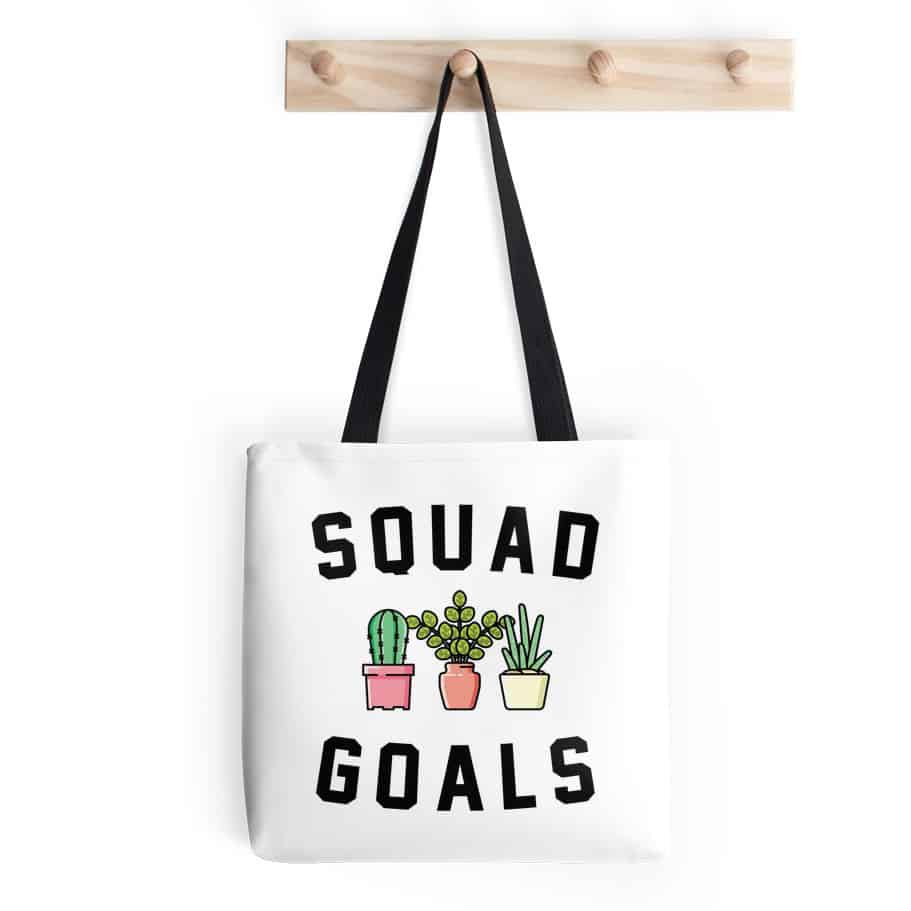 squad goals bag
