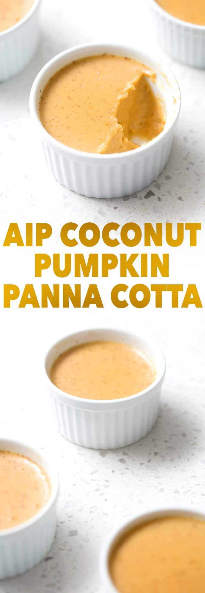 Here's an AIP (which means dairy, soy, nut and refined sugar free) coconut based dessert that is the new wintertime favorite. Perfect for your healthy holidays! This recipe is allergy friendly (gluten, dairy, shellfish, nut, egg, and soy free) and suits the autoimmune protocol (AIP) and paleo diets.