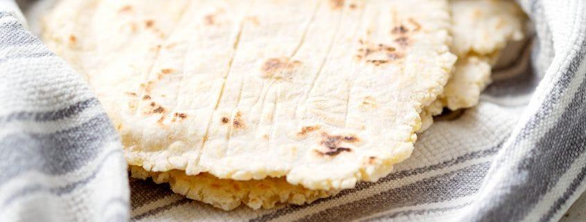 aip cassava (gluten free) flatbread or tortilla