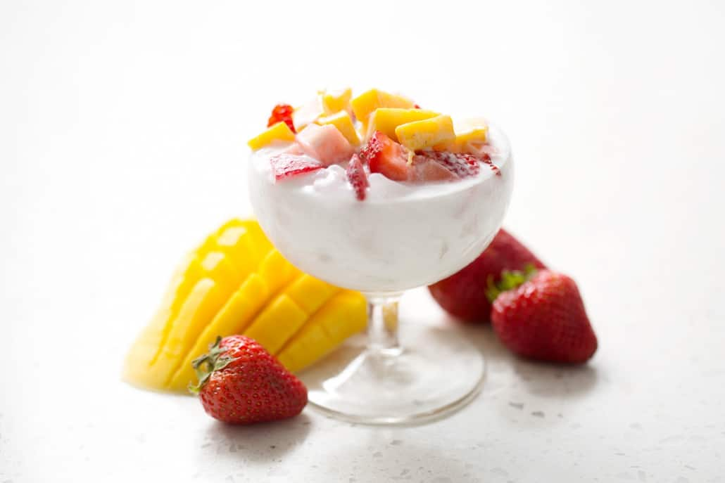 Have you ever heard of Bao Bing? It's a Chinese dessert made from shaved ice and topped with your favorite combination of fruit, jellies and sauces. The closest American dish would be the ice cream Sunday. I've created this recipe to be totally AIP friendly and as always, delicious.