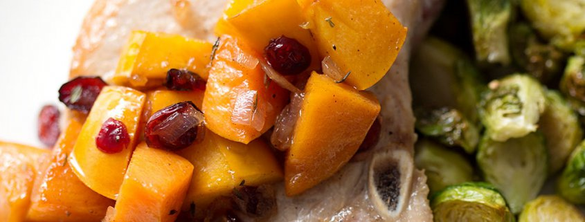 Tart cranberries, savory shallots and sweet persimmons make for a tasty side dish or topping that's great for breakfast, lunch, or dinner. This recipe is allergy friendly (gluten, dairy, shellfish, nut, egg, and soy free) and suits the AIP, Paleo and Vegan diets.