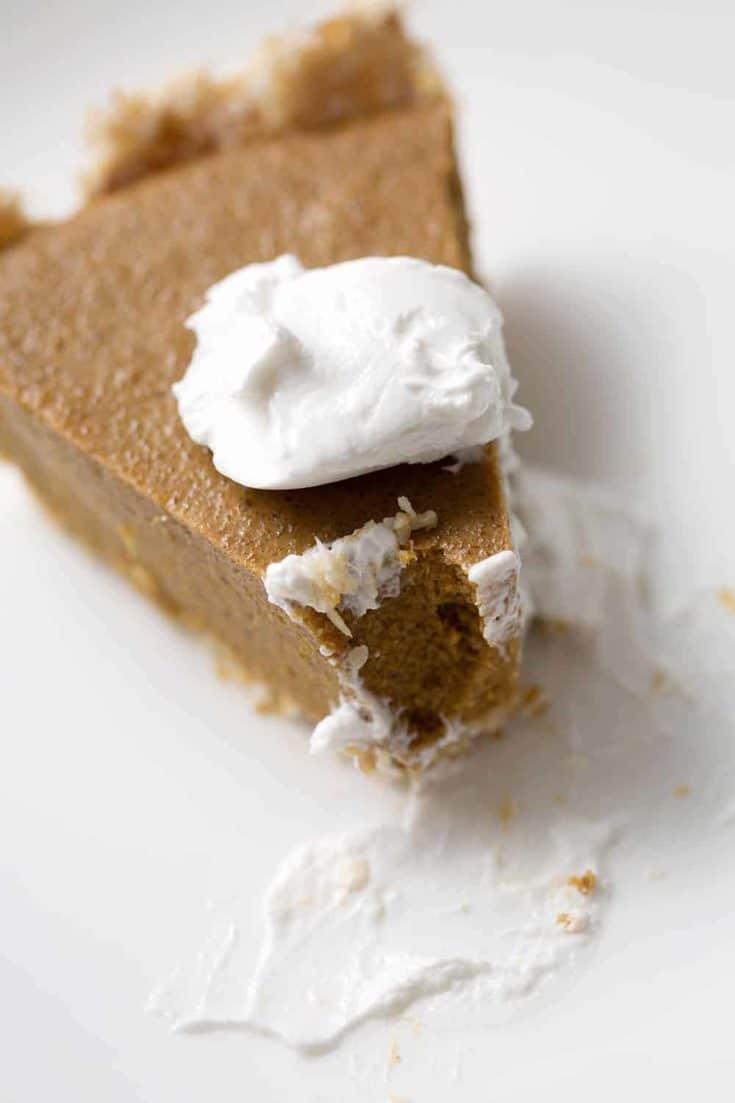 No-Bake AIP Pumpkin Pie