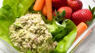 Simple Avocado Tuna Salad