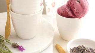 Boysenberry Lavender Ice Cream {AIP, GAPS, SCD, Paleo}
