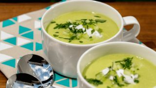 AIP-friendly Cream of Cucumber Soup (It's Trans-seasonal!)