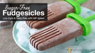 Sugar-free Fudgesicles that taste just like the real thing!