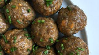 Basic Meatballs (aka Sweet Potato Meatballs)