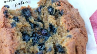 AIP Blueberry Muffins {autoimmune protocol, egg-free, dairy-free, nut-free; moist and delicious; easy ingredients!}