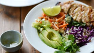 "Lime Chicken Bowls with ""Peanut"" Sauce (AIP/Paleo/Whole30)"