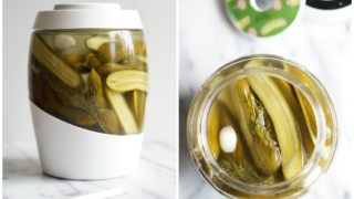Lacto-Fermented Garlic Dill Pickles {AIP, GAPS, SCD, Paleo}