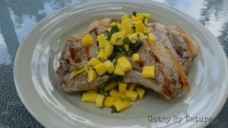 Grilled Pork Chops with Mango Mint Salsa (Paleo, AIP, SCD)