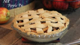 Apple Pie (Two Variations, AIP and Standard Paleo) ~ The Paleo Mom