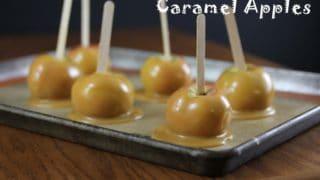 Caramel Apples (Dairy-Free, AIP-friendly) ~ The Paleo Mom