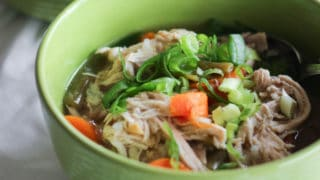 Instant Pot Chicken Soup (Paleo, Whole30, AIP, Keto)