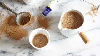 French Peppermint Hot Chocolate {AIP, Paleo}