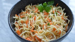 Celery Root and Carrot Salad (AIP)