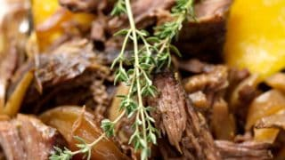 Slow Cooker AIP Shredded Beef