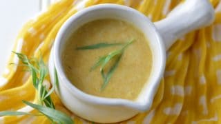 Butternut Squash Soup w/Lemon & Tarragon