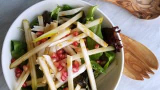Jicama Pear Pomegranate Salad