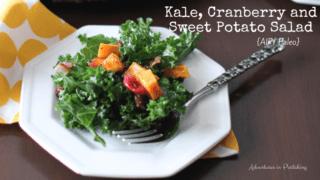 Kale, Cranberry & Sweet Potato Salad