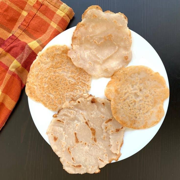 Cassava Crepes || Cassava Rotis (No Knead, No Roll)