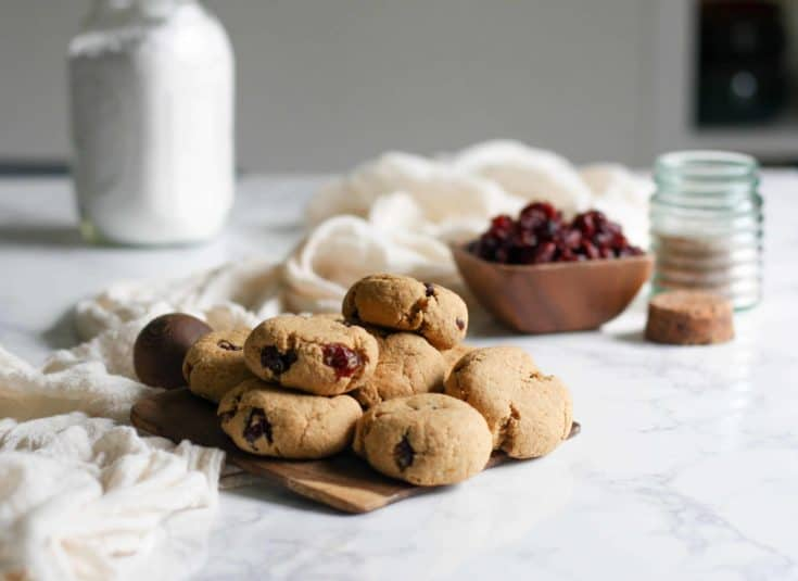 Cranberry Orange Cookies (AIP, Paleo)