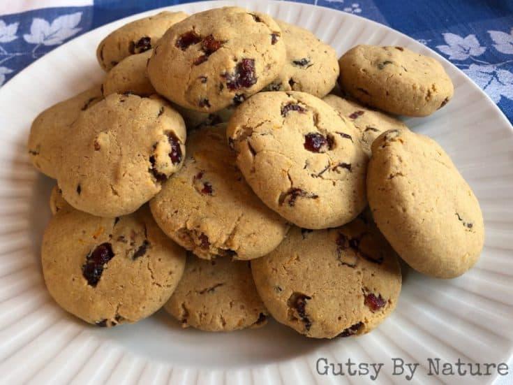 Maple Cranberry Orange Cookies (AIP)