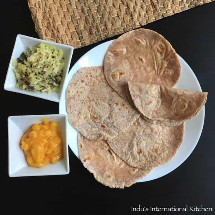 Gluten free and Grain free Chapati / Roti (Paleo, AIP, Vegan)