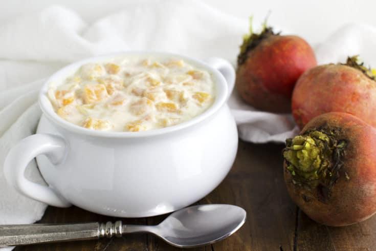 Winter Veggies in Spiced Coconut Milk