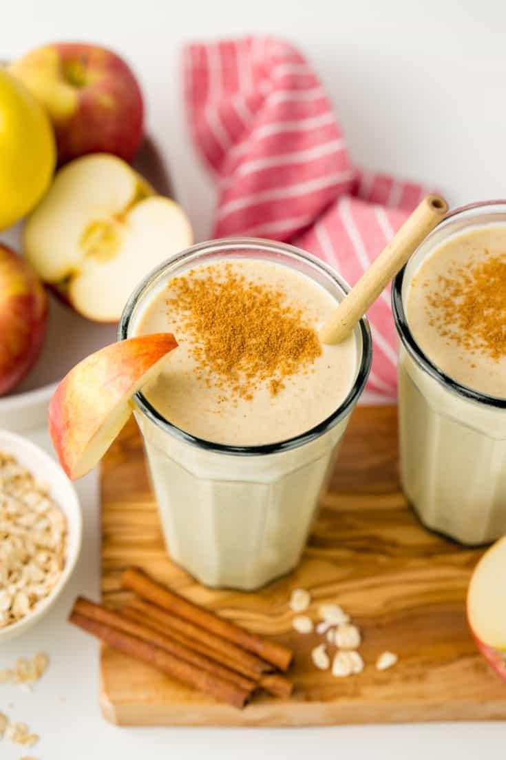 Apple Smoothie (paleo, vegan options) - Texanerin Baking