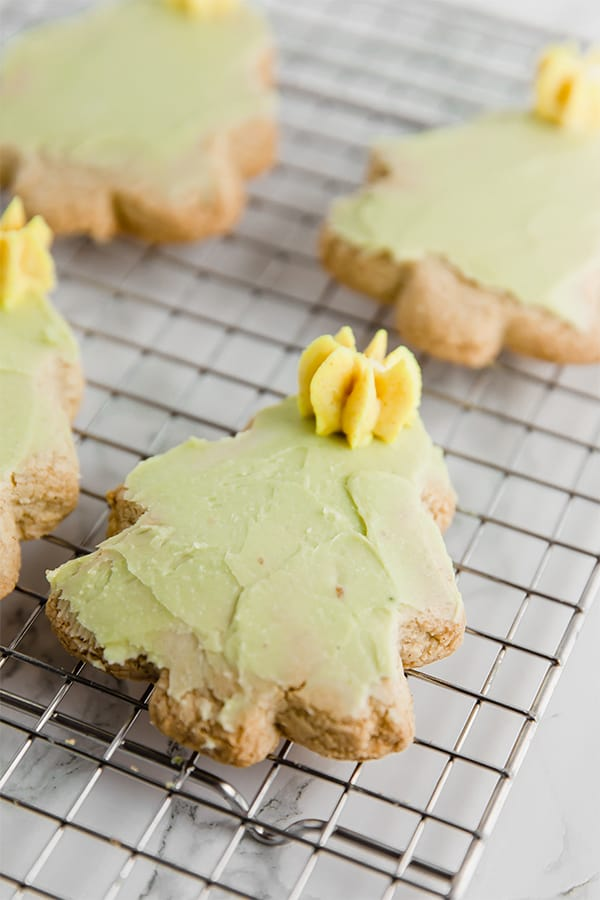 Christmas Cut out Sugar Cookies (Paleo, AIP, GF)