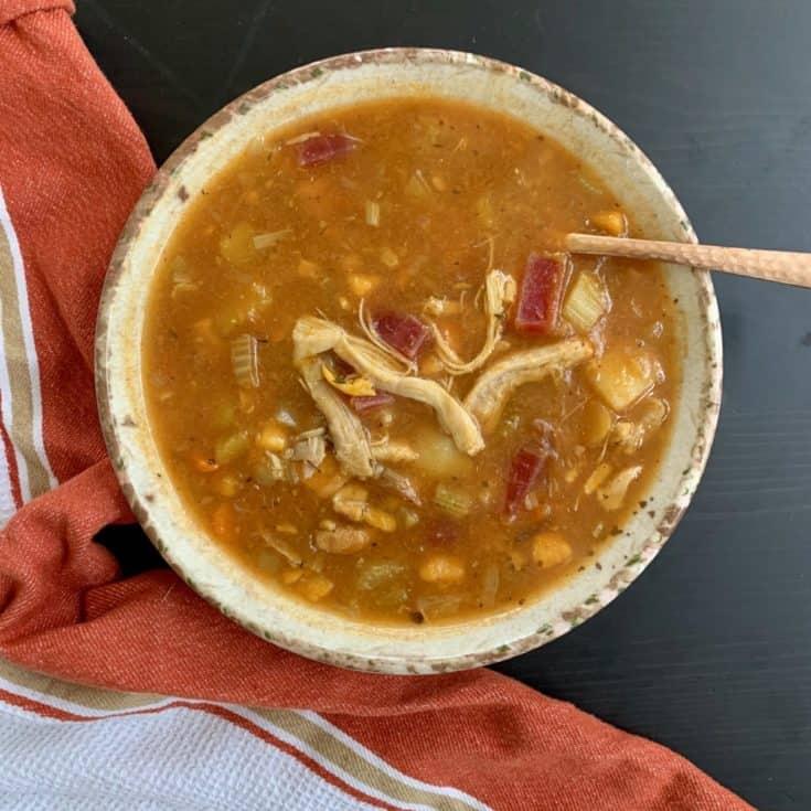 Chicken Minestrone Soup (Paleo, AIP) || Instant Pot Chicken Minestrone