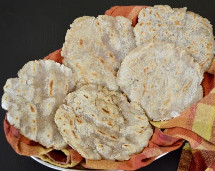 Grain Free Naan || Indian Flatbread (Paleo, AIP, Vegan)
