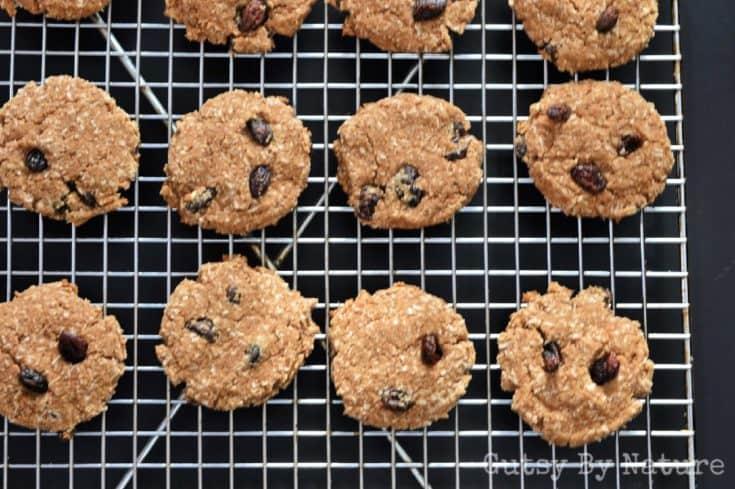N'Oatmeal Raisin Cookies (AIP)