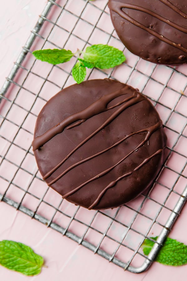 Paleo Thin Mint Cookies (AIP)