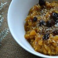 Acorn Squash N'Oatmeal (AIP/Paleo/Sugar-Free)