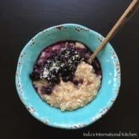 Tapioca pearl porridge (Paleo, AIP, Vegan, Gluten free)