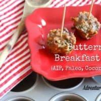 Butternut Breakfast Bites {AIP, Paleo, coconut free}