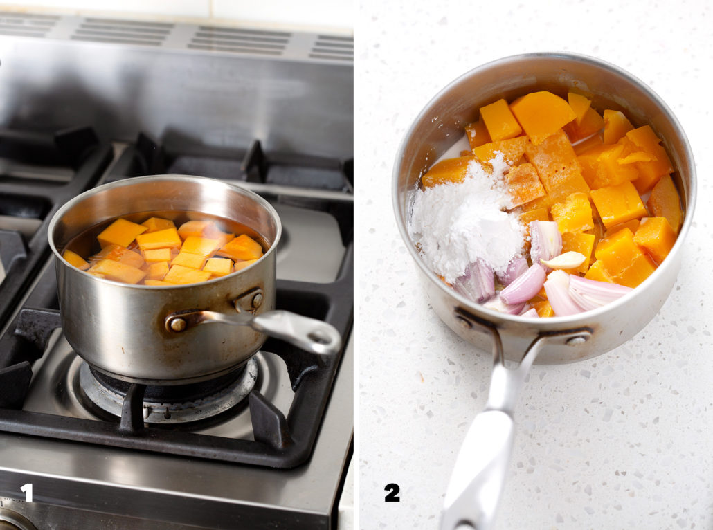 steps to make AIP Nacho 'Cheese' Sauce