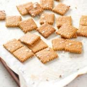AIP Cassava 'Cheese' Crackers