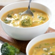 AIP Broccoli Cheese Soup