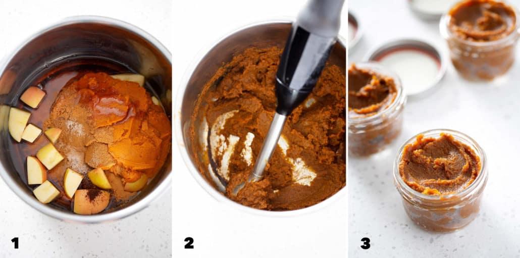 steps to making slow cooker pumpkin butter
