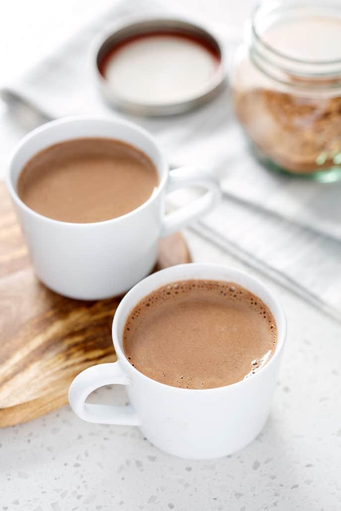 mugs of AIP Hot 'Chocolate'