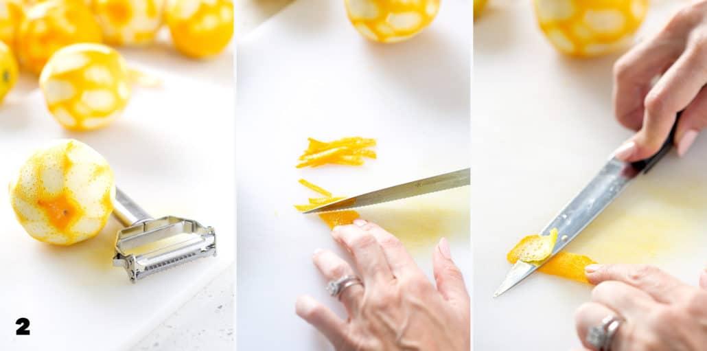 steps to making Instant Pot Orange Marmalade