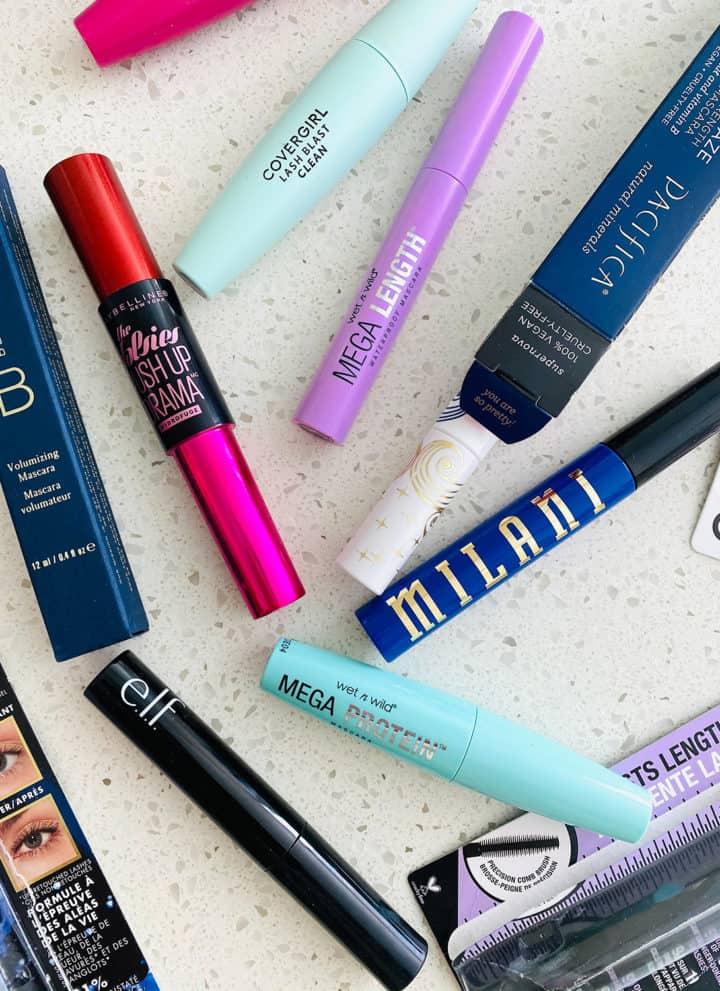 mascara tubes for nontoxic mascara post
