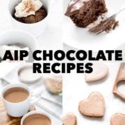 AIP 'Chocolate' Recipes