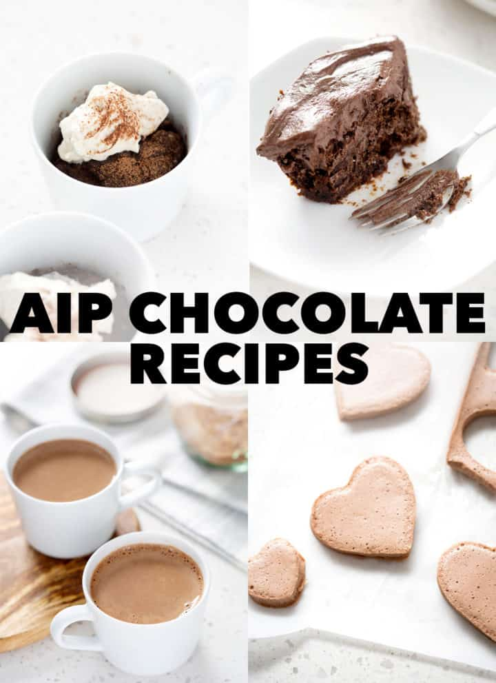 pictures of AIP 'Chocolate' recipes