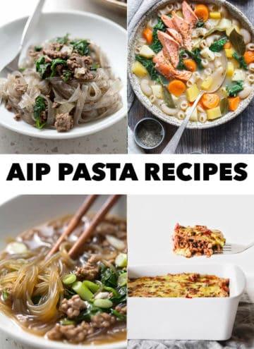 pictures of AIP Pasta recipes